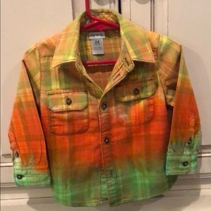 Adorable custom flannel shirt